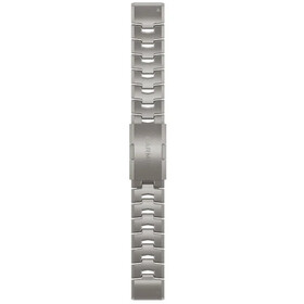 Garmin QuickFit Titanium Horlogeband 22mm for Fenix 6, grey